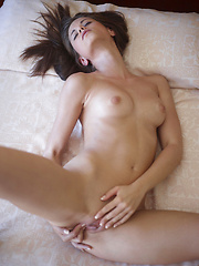 Teen model Caprice is tempting herself