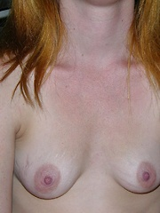 Amateur Redhead Petite Teen Stripping & Spreading Nude - Alissa C.