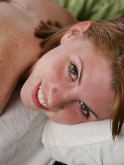 Aubrie Belle and Sadie Grey oiled massage