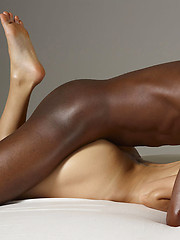 Black guy fucks young skinny model