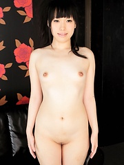 Cute skinny girl Chiharu Yoshino loves her asian body