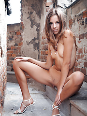 Altea is a smoking hot girl with a coffee flavored skin and petite features all over her nude body.