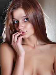 Indiana loves to take chances , stripping off all her clothes and letting the lights dance on her curves.
