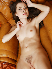 Brown-haired hot babe