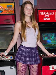 Lindsay Bare Teen Loitering