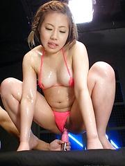 J Ecstasy - Kana Endo gets massaget