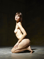 Photoset beautiful girl in the studio