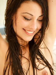 Playful, fun, and charming Lorena B is a delight to watch while taking a shower