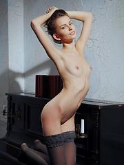 Lucia A in a sexy budoir shoot