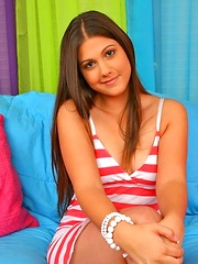 Chk out young hottie carmella take it hard in thes pics
