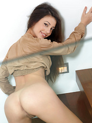 The ever-beuatiful Lorena B poses for another exciting set, showcasing her beautiful, long legs, firm ass, and sweet pussy with finely trimmed bush.