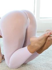 Jada's tiny little ass gets a good stretching